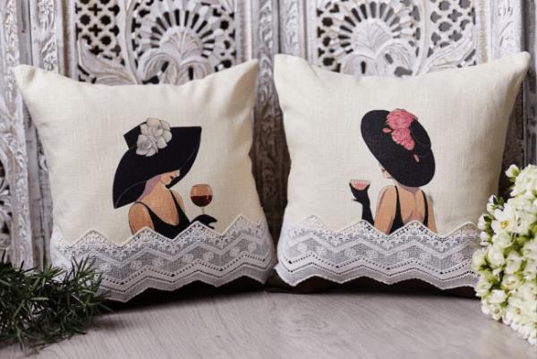Декоративные подушки для гостиной