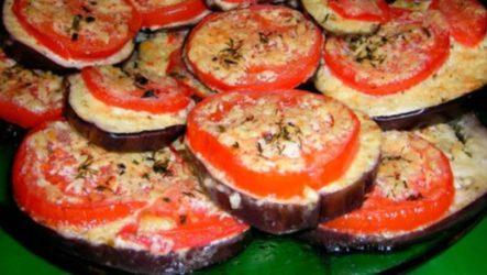 Рецепт приготовления баклажанов под шубой