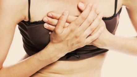 Чем могут быть вызваны боли в грудной клетке у женщин