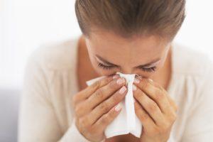 Аллергический ринит - фото симптомов аллергии