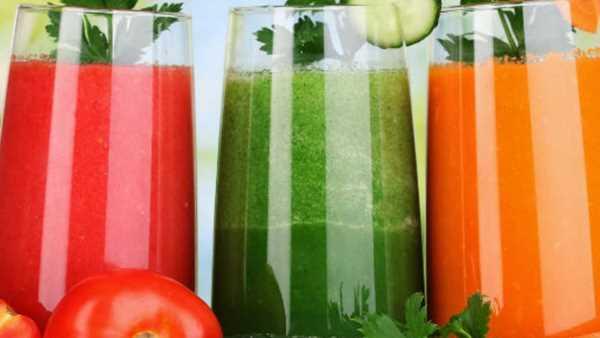 Детокс-диета по дням: меню с употреблением сока