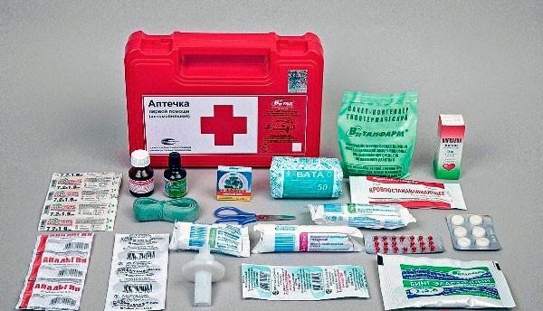 Состав домашней аптечки