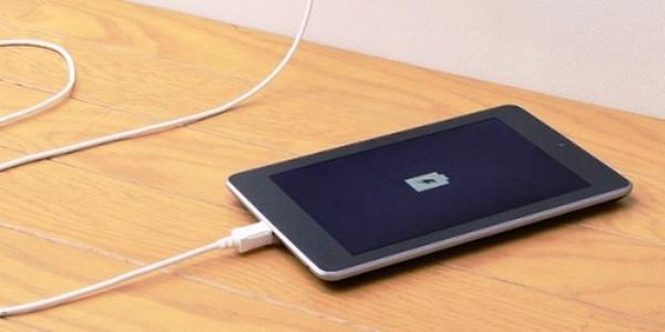 Зарядка планшета после замены аккумулятора