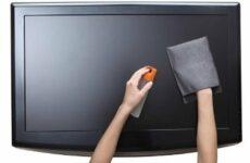 Чем можно протирать экран ЖК-телевизора