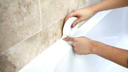 5  способов решений проблемы зазора между ванной и стеной