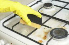 Наконец-то я научилась мыть решетки газовой плиты легко и просто