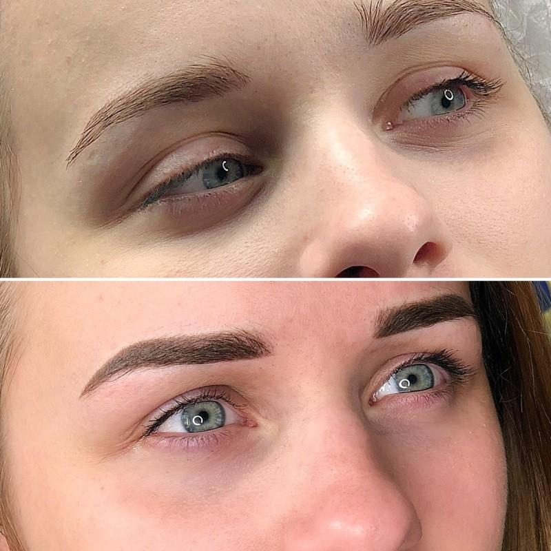 Перманентный макияж: до и после процедуры