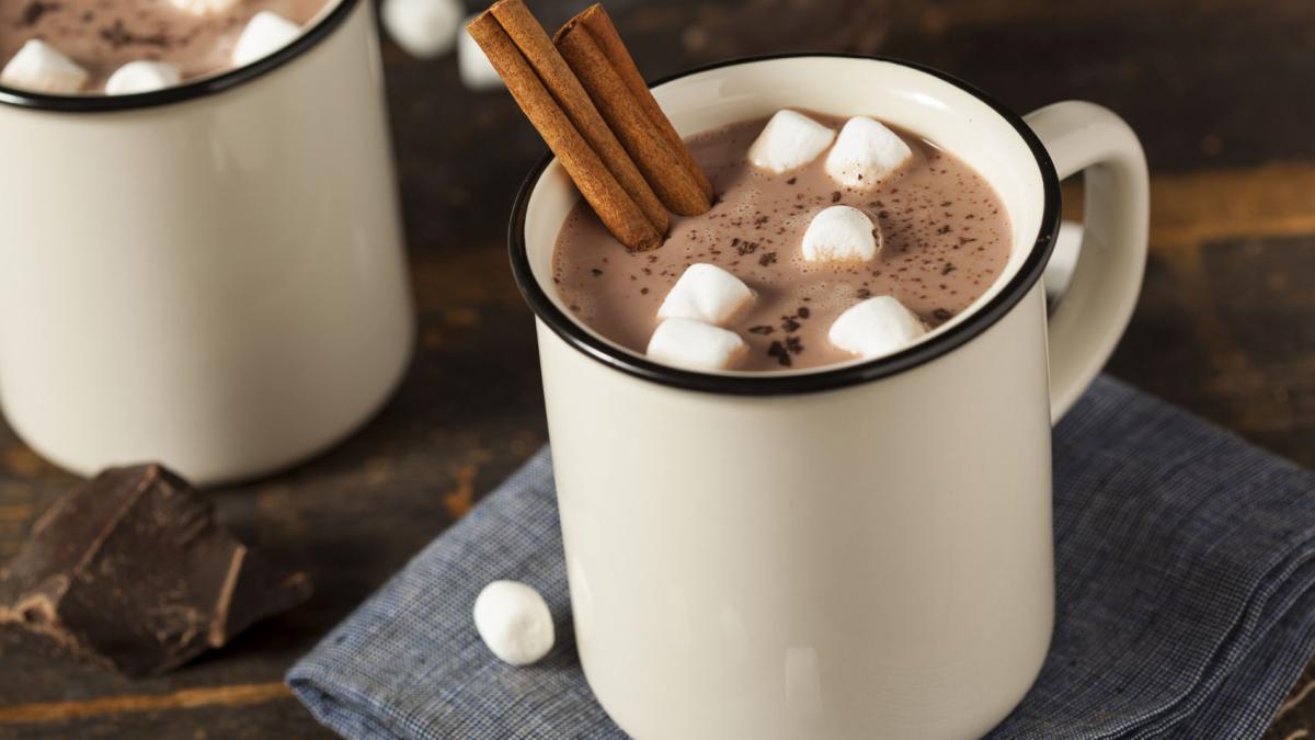 Вкусное какао для поднятия настроения